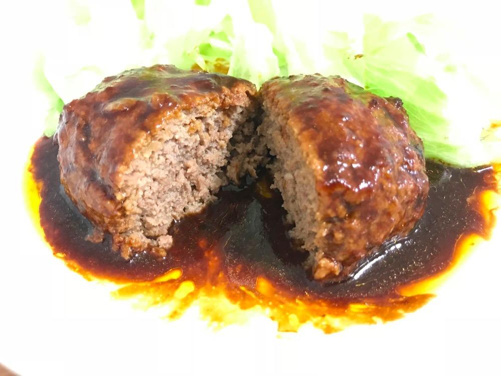 ブンイレブン金の直火焼ハンバーグは手頃な値段で本格的なおすすめ商品!