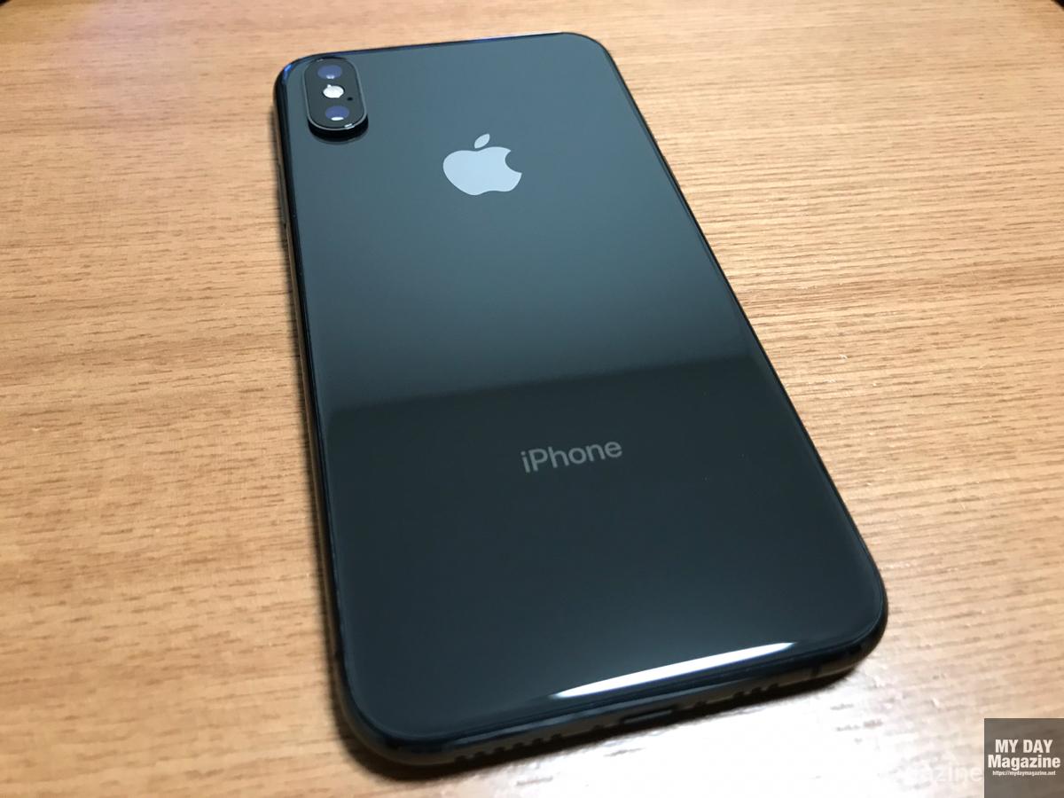 iPhoneXSスペースグレイ開封レビュー!ケースはiFace!メイン機とサブ機を両立させます。