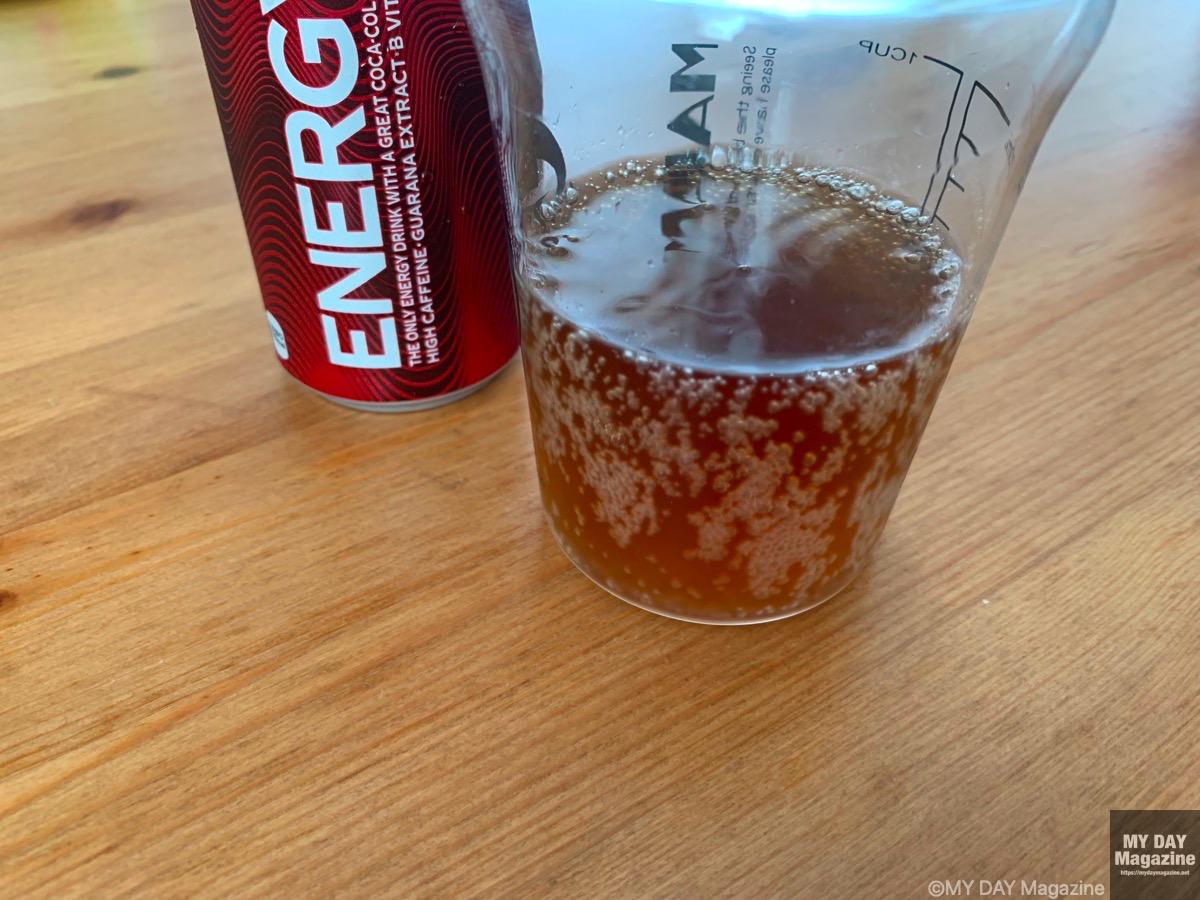 コカ・コーラの新登場のエナジードリンク「エナジー」を飲んでみた!