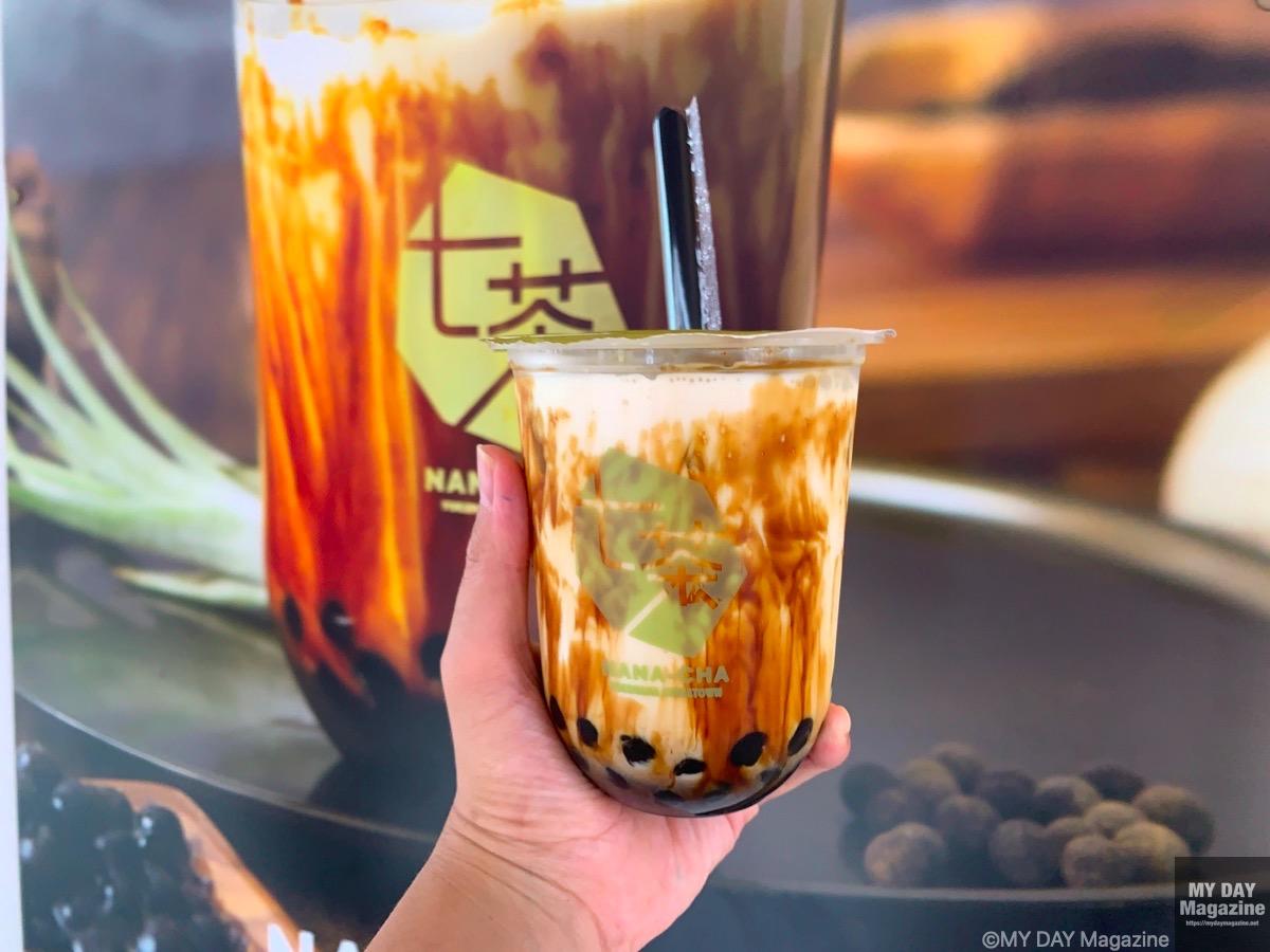 中華街「七茶」の沖縄黒糖ラテを飲んでみた。