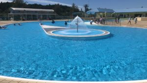 茨城県いこいの村涸沼にあるわんぱくプールは気軽に利用出来て穴場のプールでオススメ!